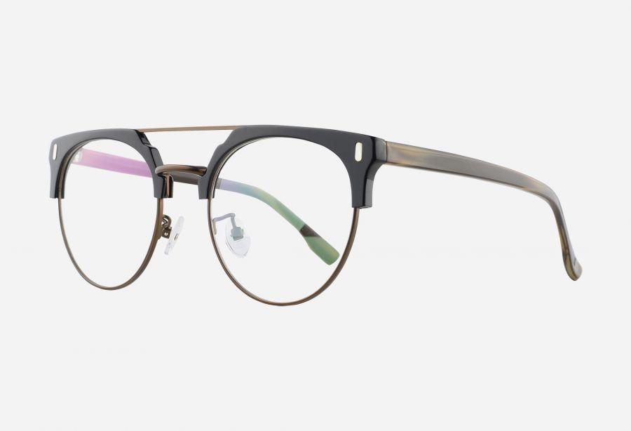 Prescription Glasses 098BRIGHTBLACKBROWN