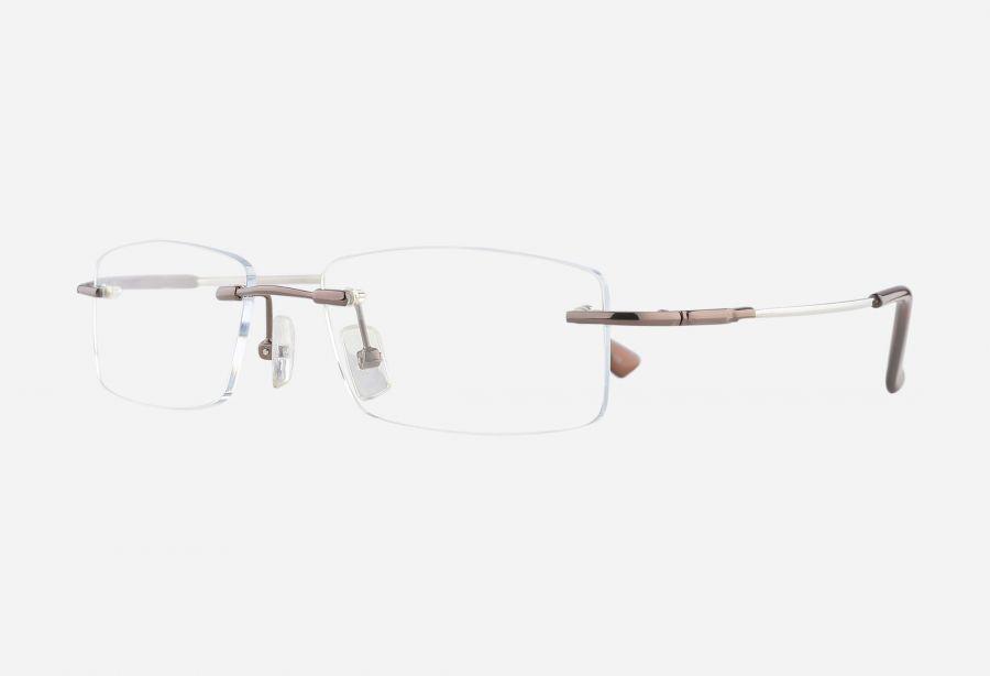 Prescription Glasses 1266brown