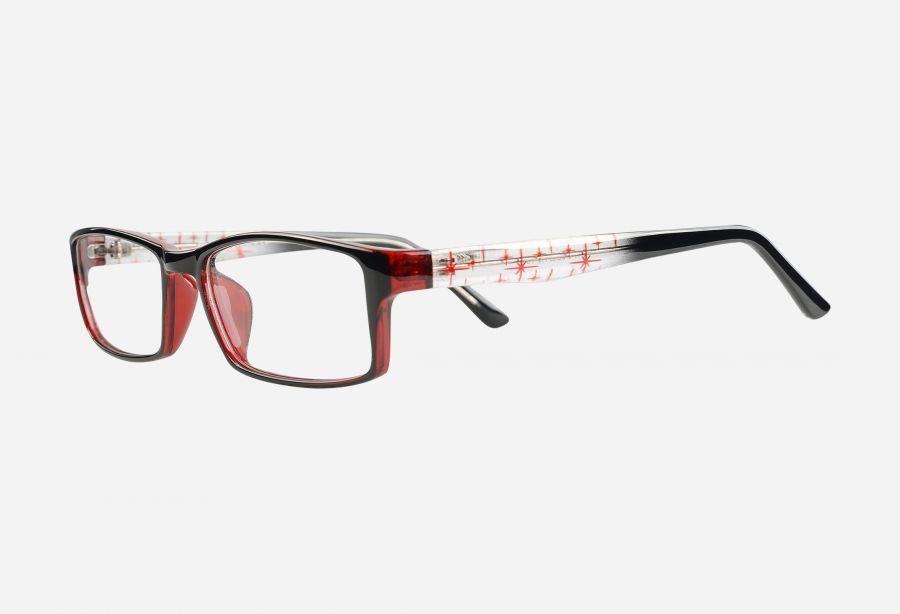 Prescription Glasses p2471blackred
