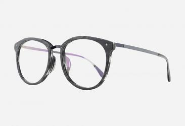 Women's Eyeglasses 069BLACKWHITE
