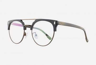 Women's Eyeglasses 098BRIGHTBLACKBROWN