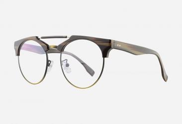 Round Eyeglasses 114c3