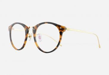 Round Eyeglasses 138DEMI