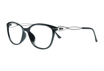 Oval Eyeglasses 1705_black