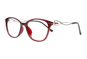 Oval Eyeglasses 1705_red