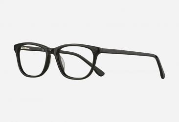 Oval Eyeglasses 1856black