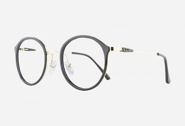 Round Eyeglasses 2025black