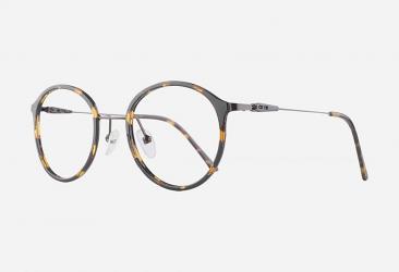 Round Eyeglasses 2025demi