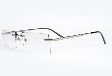 Rimless Eyeglasses 2031_gun