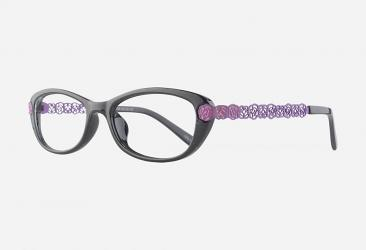 Oval Eyeglasses 22035purple
