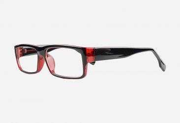 Women's Eyeglasses 2364BLACKRED
