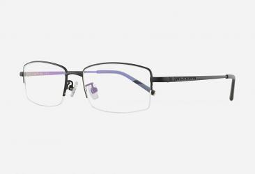 Titanium Eyeglasses 3301MATTEBLACK