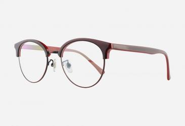 Burgundy Eyeglasses 5013BURGUND