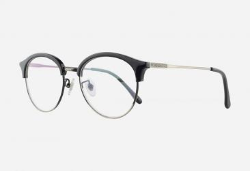 Round Eyeglasses 5019BLACK