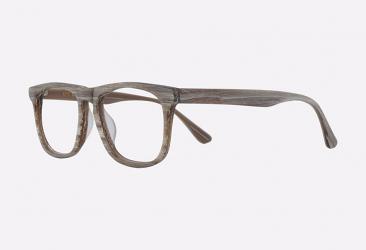 Wayfarer Eyeglasses 5070brownstripe