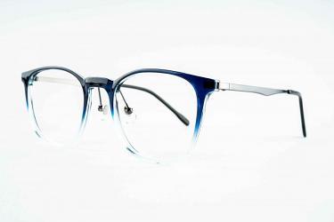 Women's Eyeglasses 51009_blueclear