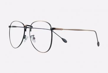 Aviator Eyeglasses 55903BRONZE