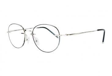 Rimless Eyeglasses 8007_silver