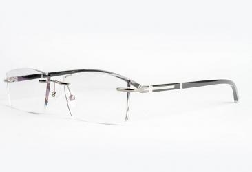 Rectangle Eyeglasses 88202_silver