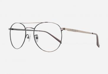 Round Eyeglasses 8841brown