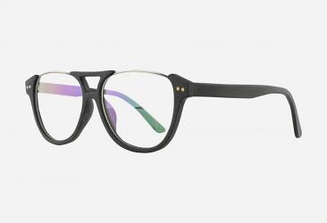 Aviator Eyeglasses 9055BLACK