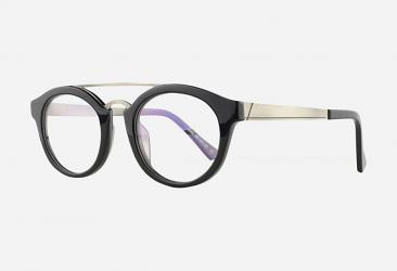 Round Eyeglasses 9085BLACK