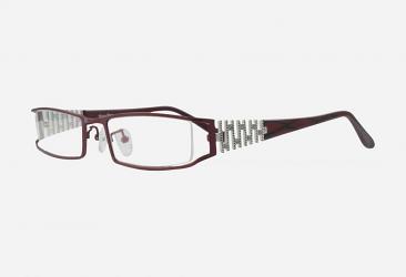 Burgundy Eyeglasses 9307burgundy