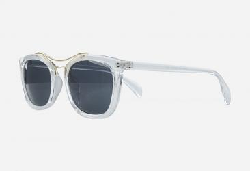 Round Sunglasses 9764clear