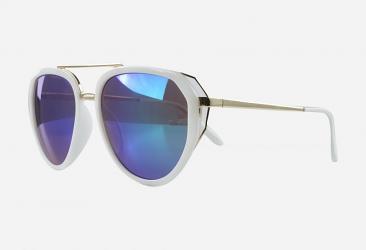 Aviator Sunglasses 9812white