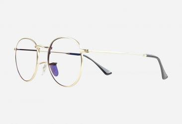 Gold Eyeglasses 87205_gold