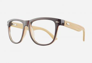 Wooden Eyeglasses a6812brown