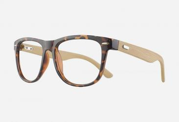 Wooden Eyeglasses a6812demi