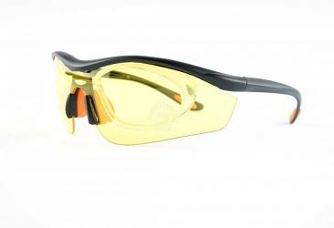 Ski Glasses al401_blackyellow