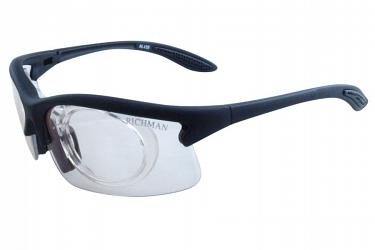 Prescription Glasses al435_blackclear
