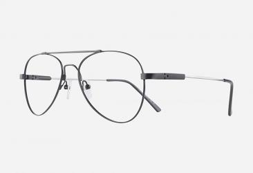 Aviator Eyeglasses cf919black
