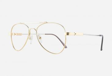 Aviator Eyeglasses cf919gold