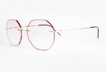 Gold Eyeglasses d6066_gold