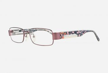 Oval Eyeglasses hm1009red