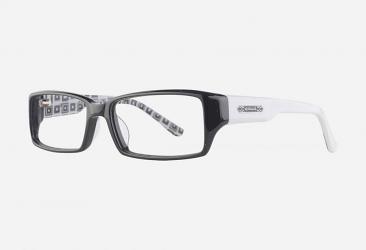 Prescription Glasses hm1028bblackwhite