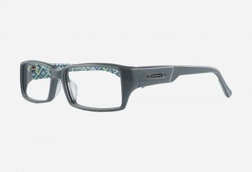 Green Eyeglasses hm1028bgreygreen