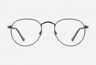 Round Eyeglasses m1512black