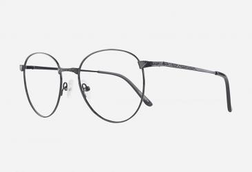 Round Eyeglasses m55814black