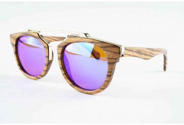 Oval Sunglasses Owood_07_Brown