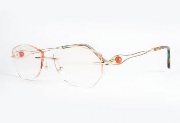 Gold Eyeglasses r1021_gold