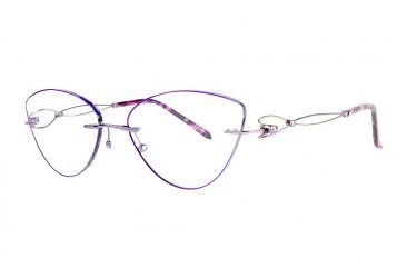 Women's Eyeglasses r1027_purple