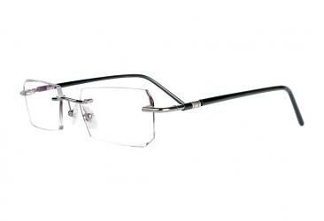 Rectangle Eyeglasses r1290_gun