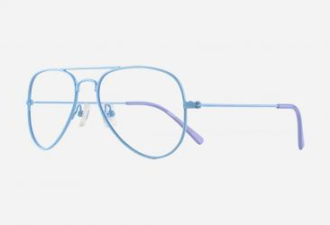 Aviator Eyeglasses s5052blue