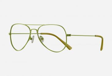 Aviator Eyeglasses s5052green
