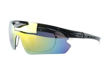 Prescription Sports Glasses sp015blackwhite