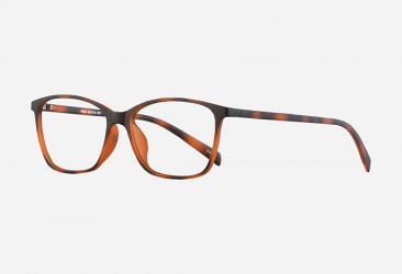 Cat Eye Glasses tr604demi